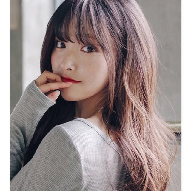 Các kiểu tóc mái cho mũi tẹt mặt to cực xinh và nổi bật