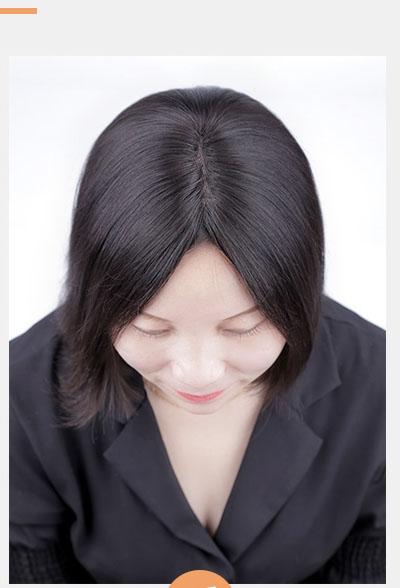 Sau khi dùng tóc kẹp LUXY